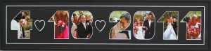 wedding photo frame gift